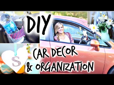 DIY Car Decor & Organization!