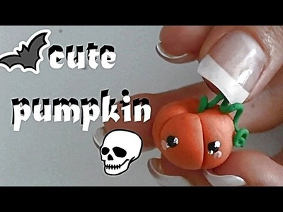 ❀ DIY ✄ Cute Clay Pumpkin Tutorial! (kawaii!) ❀
