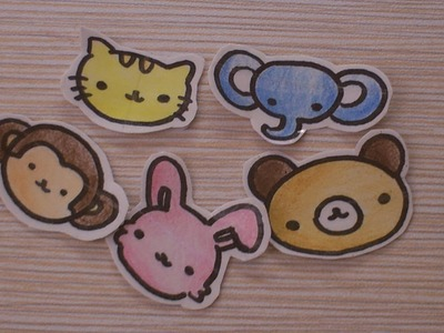 DIY: Cute sticker tutorial.  (requested by Diyluver01)