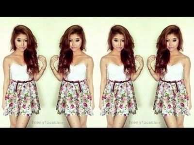 DIY Floral Skirt ♥