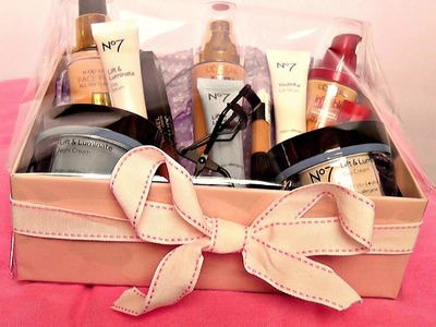DIY Gift Box ♡♡ Beauty Hamper
