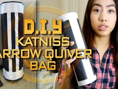 DIY Katniss Arrow Quiver Bag!!!