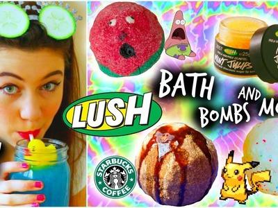 DIY LUSH Bath Bombs + Demos and More!