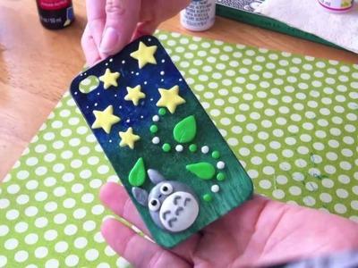 DIY Totoro Phone Case