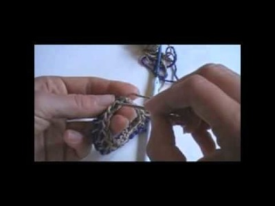 Double-Ended Crochet Hook Spiral Method - Part 2: Tunisian Crochet in the Round - Join Chain