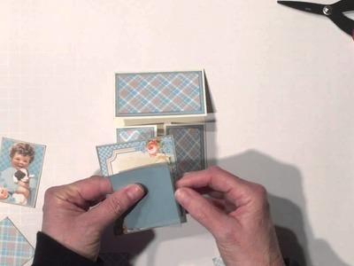 Graphic 45 Precious Memories Dutch Fold Card and Tutorial