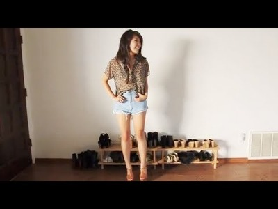 How I Style: High Waisted Shorts