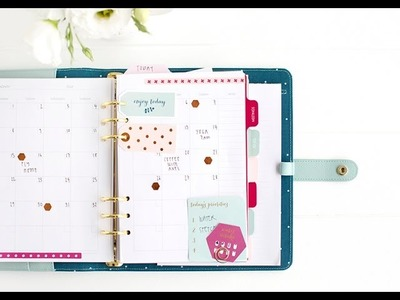 How to Customise your Dark Mint kikki.K Planner