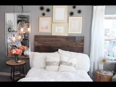 HOW TO: DIY Gold Leaf Frames (West Elm HACK!)