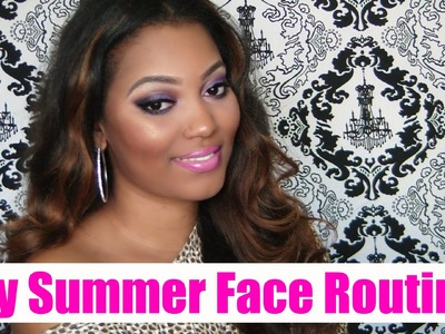 How To: DIY Tinted Moisturizer & My Summer Face Routine