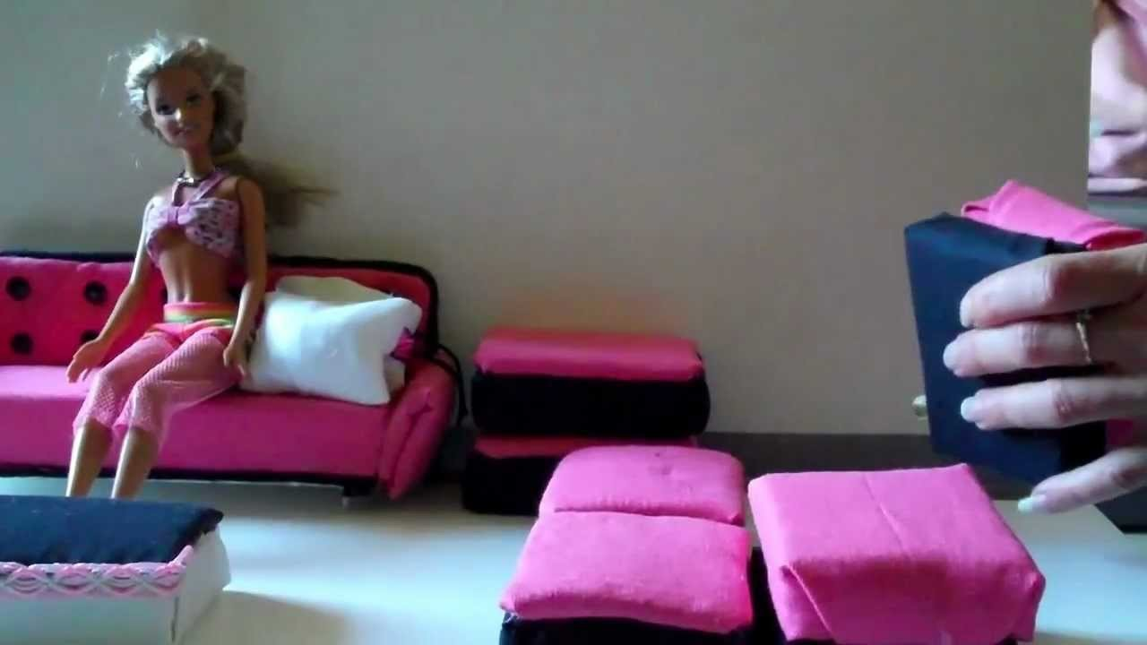How To Make A Doll Sofa Cheap And Easy