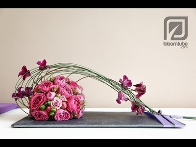 How to make a flower arrangement. Bloomtube DIY