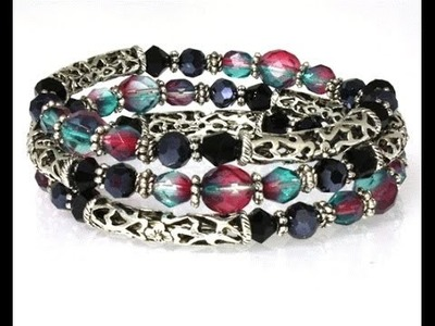 How to Make a Memory Wire Bracelet