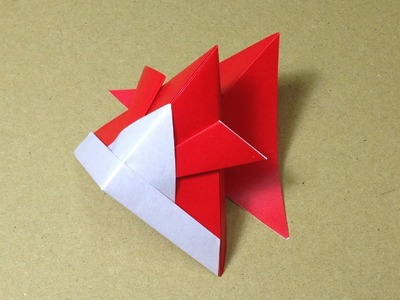 How to Make a Paper Animals. Origami Goldfish. Easy for Children