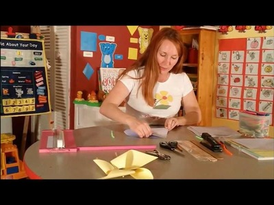 How to Make a Pinless Pinwheel - Crafts for Kids