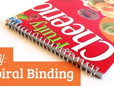 How to Make a Spiral Bound Book