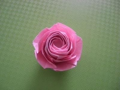 How To Make Naomiki SATO Rose Origami instruction