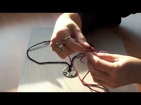 How to Tie Necklace Slip Knots