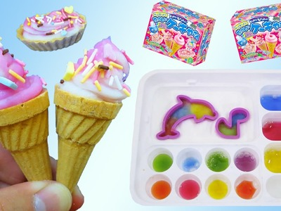 Kracie Popin Cookin DIY Ice Cream Candy, Gumi Land, Panda Shape Bento SUPER Video!