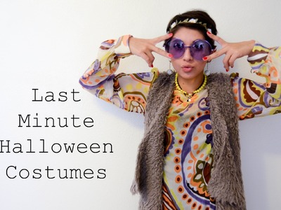 Last Minute Halloween Costumes!