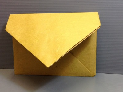 Make Your Own A6 Origami Envelope for Christmas!