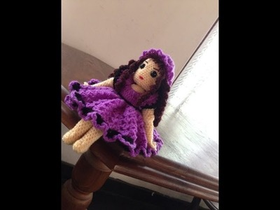 My crochet Bleuette doll (free pattern)