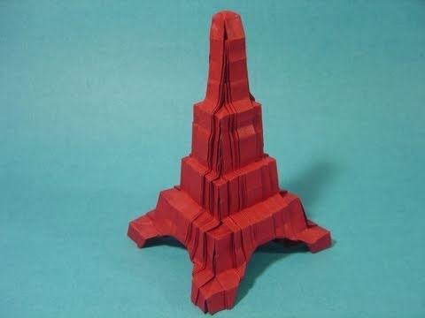 Origami Eiffel Tower (Robin Glynn)