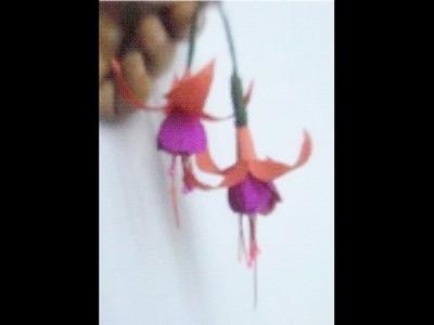 Paper Flower - Fuchsia