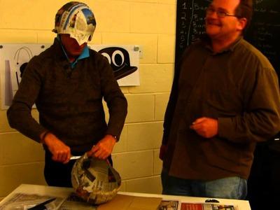 Paper Mache Bowler Hat Challenge - Part 3