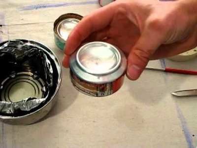 Penny Alcohol Stove DIY Tutorial