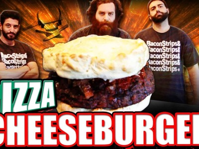 Pizza Cheeseburger - Epic Meal Time