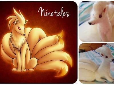 Pokemon Ninetales - Needle Felted