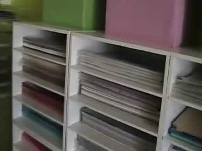 Scrapbook Room Tour Part 3 of 4