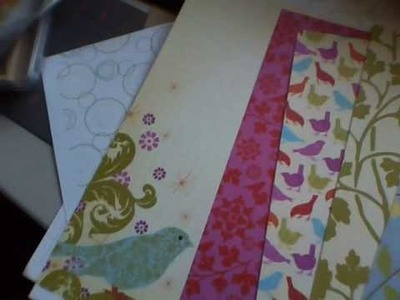 Scrapbooking Yard Sale Haul, Vintage Paper Flowers, and ATC cards