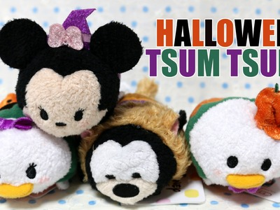 ShopaHAULic! Halloween Tsum Tsums & Craft Books