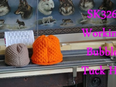 SK326 working, Making a Tuck Stitch Hat