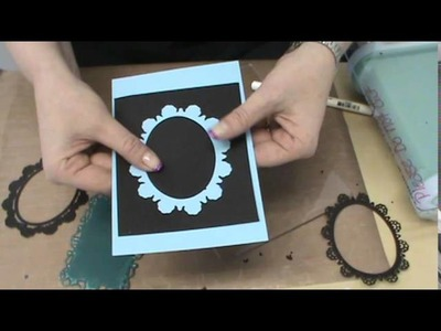 #101 Cut and yes, EMBOSS with XCut Dies & Sizzix Magnetic Platform by Scrapbooking Made Simple