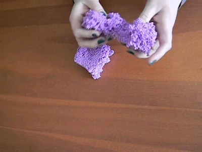 ASMR Squishy Sticky Foam Modeling Beads with Crinkly Plastic