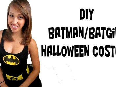 Batman. Batwomen Costume (FAST EASY SIMPLE DIY)