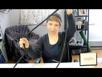 CRAFT Video: Bike Tube Headband