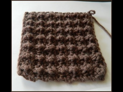 Crochet Cobble Stitch Pattern