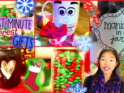 Cute & Affordable DIY Last Minute Pinterest Holiday.Christmas Gifts! ❅ #happyho-LE-days