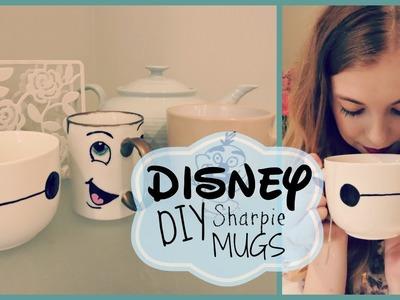 Disney DIY Sharpie Mugs  ºoº