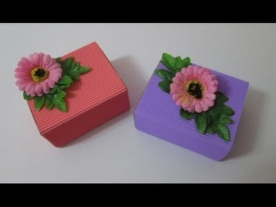 DIY : #22 Cute Door Gift Box ♥