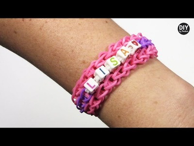 DIY by Panduro: Rainbow Loom with letter beads