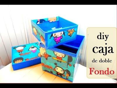 Diy:cajas de doble fondo (double boxes background)