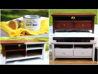 DIY Chalk Paint Furniture Makeover