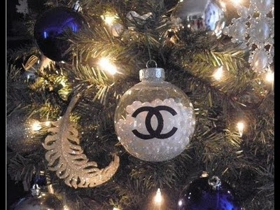 DIY: Chanel Pearls Christmas Ornament! Have a Very Couture Holiday!