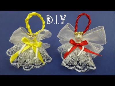 ❆☃❆ D.I.Y. Christmas Ornament Angel - Tutorial ❆☃❆