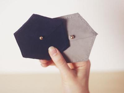 DIY Coin Purse. porte monnaie